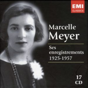 Marcelle Meyer Ses Enregistrements