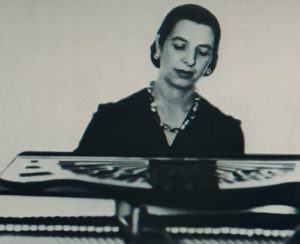 Meyer at the piano